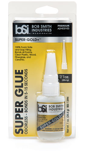 Super-Gold+ - Odorless Cyanoacrylate - Foam Safe Super Glue - Cyanoacrylate - BSI Adhesives