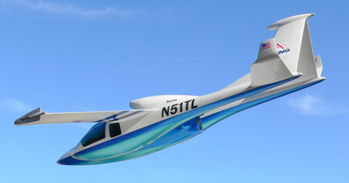 Jet plane experience - Triton Concept Aircraft - BSI Micronautix - Charlee Smith